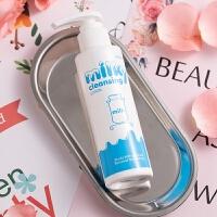 mistine 美氏婷牛奶温和卸妆乳液 100ml(保湿 温和洁面乳 深层清洁)