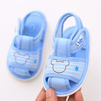 夏季宝宝学步鞋婴儿鞋男女儿童布鞋透气凉鞋