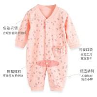 猫人婴儿连体衣春装初生新生儿纯棉衣服保暖哈衣男女宝宝爬服