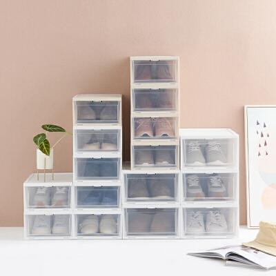 网易严选 开窗式收纳鞋盒 相见恨晚的储鞋神器
