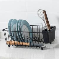 欧润哲 可移动多层带轮手推车置物架 浴室收纳架厨房夹缝隙整理架
