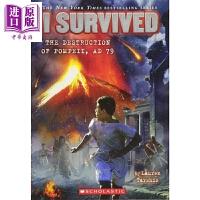 【中商原版】学乐我是生存者:毁灭庞贝城 I SURVIVED 儿童科普文学 章节书 桥梁书 7~12岁 英文原版 小初读