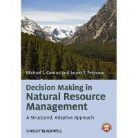 【预订】Decision Making in Natural Resource Management: A