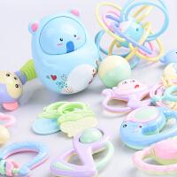 婴儿玩具3-6-12个月新生幼儿摇铃 0-1岁宝宝智力早教手摇铃牙胶