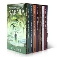 英文原版 纳尼亚传奇8本全集The Chronicles of Narnia 进口青少年小说 Lion, the Wi