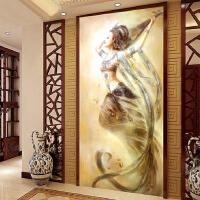 十字绣客厅敦煌飞天反弹琵琶美女仙女人物观音油画系列
