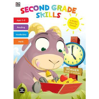 【预订】Second Grade Skills 预订商品,需要1-3个月发货,非质量问题不接受退换货。