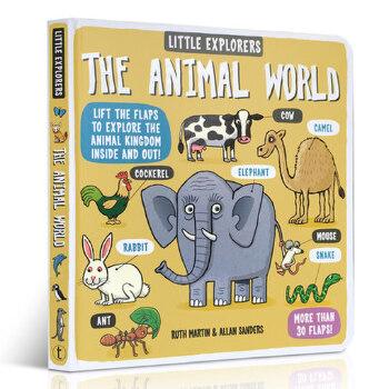 进口英文原版正品 Little Explorers: The Animal World 小小探险家动物世界故事读物科普百科大自然趣味科学Ruth Martin英语知识