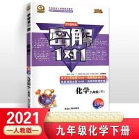 2020 中学新教材密解1对1 九年级下册 化学 人教版部编版 全彩版
