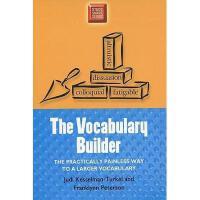 【预订】The Vocabulary Builder: The Practically Painless Way