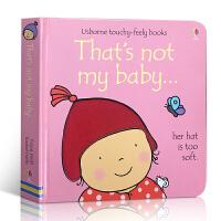 英文原版 That's Not My Baby - Girl 那不是我的宝贝 女孩 3 - 6 岁幼儿启蒙认知英语学习