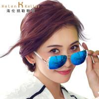 海伦凯勒太阳镜女款 2016年新款时尚炫彩偏光太阳镜 女林志玲代言驾驶墨镜 H8535