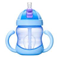 6-18个月宝宝水杯吸管杯带手柄 学饮杯婴儿