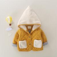 儿童外套秋冬装婴儿棉袄加厚保暖2018新款男童女宝宝冬季棉衣