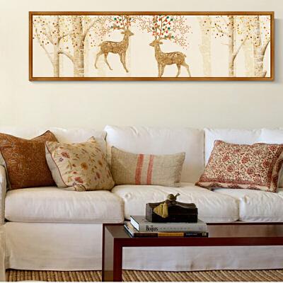 墙纸自粘创意墙画宿舍贴纸 沙发客厅墙壁贴