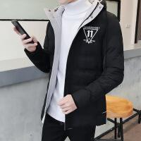 男士外套冬季棉袄韩版潮流2018新款冬装加厚羽绒冬天男装棉衣
