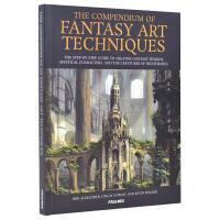 THE COMPENDIUM OF FANTASY ART TECHNIQUES 幻想艺术绘画 魔幻科幻绘画教程书籍
