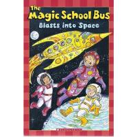英文原版Magic School Bus Science Reader: Blasts Into Space (Lev
