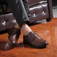 DAZED CONFUSED商务正装皮鞋男新款英伦风尖头休闲鞋时尚发型师夜店皮鞋青年个性潮