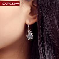 玫瑰花语流苏耳环少女气质长款耳坠简约耳饰饰品