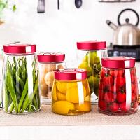 玻璃家用菜坛子腌菜罐密封罐储物罐泡酒瓶