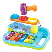 智慧八音琴宝宝手敲琴敲打琴玩具儿童八个月音乐玩具