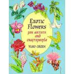【预订】Exotic Flowers for Artists and Craftspeople