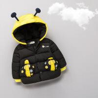 宝宝加厚外套男冬0一1岁婴儿冬装加绒秋冬2冬季羽绒棉袄棉衣