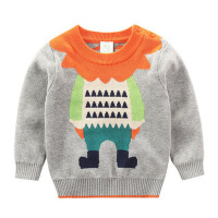 春秋男童毛衣套头新款 婴幼儿线衫宝宝针织衫儿童线衣