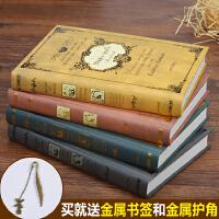 欧式超厚复古魔法书笔记本文具创意A5加厚记事本日记本子古典礼品