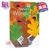 【中商原版】Michael Hall:奇妙之秋 Wonderfall 精品绘本 秋天 单词学习 绘本故事书 3~6岁 精