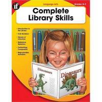 【预订】Complete Library Skills, Grade K-2: Language Arts