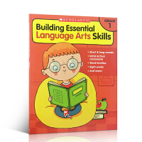 英文原版练习册 Building essential language arts skills grade 1 语言的
