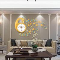 创意个性钟表挂钟客厅大时尚潮流欧式时钟现代豪华静音石英钟挂表