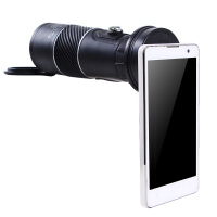单筒望远镜 高清高倍非红外微光夜视望眼镜 户外便携观景镜可伸缩调焦10X50