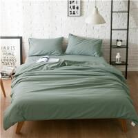 床上用品1.5m 纯棉磨毛宿舍被套床单被套4三件套1.8米全棉四件套
