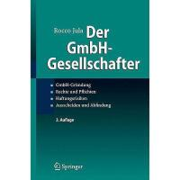 【预订】Der Gmbh-Gesellschafter: Gmbh-Grundung Rechte Und