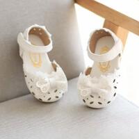 童鞋女童凉鞋公主鞋小儿童鞋夏季包头宝宝幼儿皮鞋
