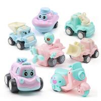 儿童玩具惯性小汽车智力男宝宝耐摔飞机0-1-2-3-4岁