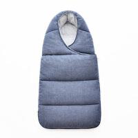 婴儿秋冬加厚抱被宝宝防踢防惊跳睡袋新生儿包被外出防寒抱毯