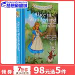 英文原版 Classic Starts Alice in Wonderland 爱丽丝梦游仙境 专门为孩子编的名著读本
