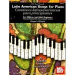 【预订】Latin American Songs for Piano for Children and
