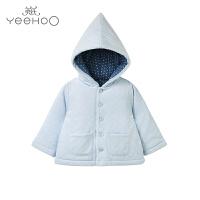 【秒杀】英氏婴儿夹棉外套 儿童连帽加厚棉服 173407