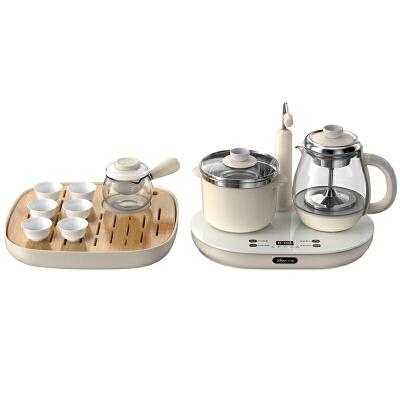 小熊 ZCQ-A08L1煮茶器全自动上水蒸汽喷淋式黑茶壶泡茶套装 支持* 自动上水功能 喷淋式煮茶 0.8L精致容量