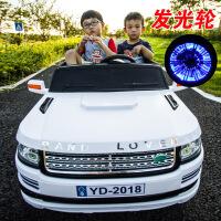 儿童电动车越野玩具可坐双人遥控汽车四轮双座双驱动大号