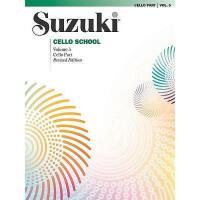 【预订】Suzuki Cello School, Vol 5: Cello Part