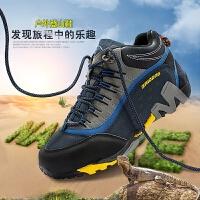 户外鞋登山鞋男鞋女鞋徒步鞋夏季运动防水防滑越野旅游鞋透气