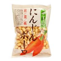 日本西村胡萝卜味小奶豆高钙小馒头 婴儿宝宝蔬菜小饼干 2段辅食