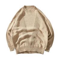冬季日系复古高领毛衣男士大码韩版宽松加厚针织衫潮流毛线衣男装