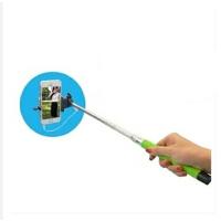 自拍杆 可伸缩杆 小米3/4 红米note234/1S苹果45S6华为P6P7带线 自拍杆
